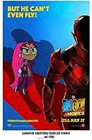 ロストポスター レアポスター スターファイア ティーンタイタンズ GO! To The Movies The Flash Reprint #'d/100!! 12×18