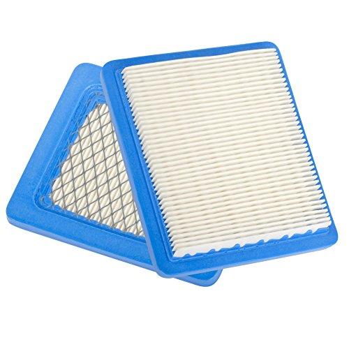 Beehive Filter Aftermarket 2Stück Luftfilter für Honda GC135GCV135GC160GCV160GC190GCV190GX100Motor 17211-zl8–023, # 17211-zl8–003& 17211-zl8–000