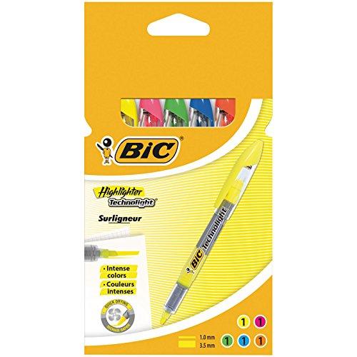 Bic 8119021 - Multicolor underline (middle stroke) - 5 Pack