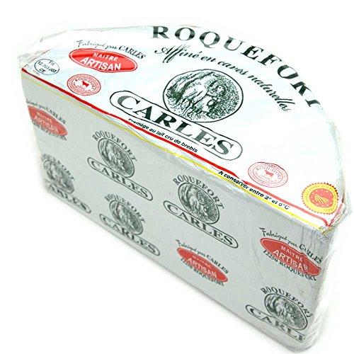 フランス産青かびチーズ A.O.C ロックフォール カルル 約500g 冷蔵