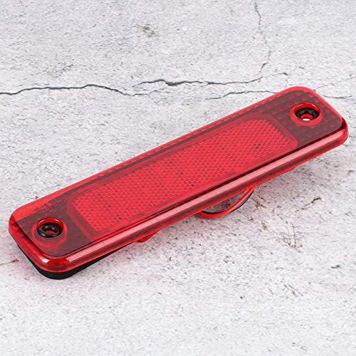 Fybida Tercera luz de Freno montada en Alto Tercera luz de Freno para Transi MK7 / Tourneo 06-14(Red, Pisa Leaning Tower Type)
