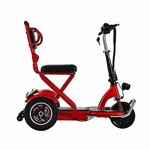 Miarui seniorenstep, zonder rijbewijs, elektrische scooter, 3-wielen, 350 W, 20 km/u, loopvermogen 25-55 km, drie-versnelling, geschikt voor ouderen, gehandicapten.