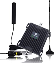 Cell Phone Signal Booster for Car, Truck and RV - 2G 3G 4G LTE 850/1700 MHz Signal Booster Dual Band 5/4 Repeater Amplifier Kit Enhance Cellular Voice & Data Signal in Vehicle