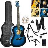 3rd Avenue Pack de guitarra acústica, Azul (Blueburst), Acústico, Pack Premium