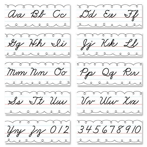 Creative Teaching Press Core Decor Cursive Alphabet Line Bulletin Board (10171)