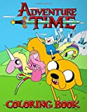 Adventure Time Coloring Book: Join Finn, Jake, and the rest of your favorite friends, explore the La...
