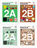 Dimensions Math Level 2 Kit (4 Books) -- Textbooks 2A and 2B, and Workbooks 2A and 2B