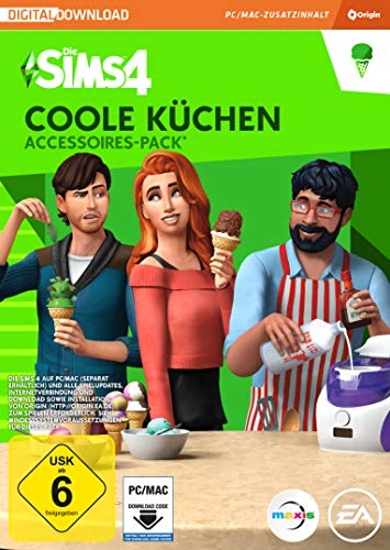 Die Sims 4 - Stuff Pack 3   Coole Küchen   PC Download Code - Origin