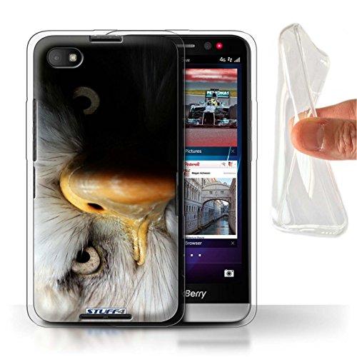 Hülle Für BlackBerry Z30 Wilde Tiere Adler/Raubvogel Design Transparent Dünn Flexibel Silikon Gel/TPU Schutz Handyhülle Case
