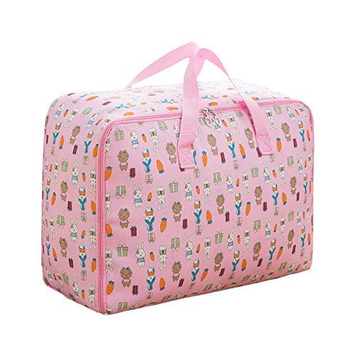 Pistaz - Bolsa de almacenamiento gigante impermeable 600D Oxford Jumbo con asa, bolsa de almacenamiento para ropa de cama, baúl de edredón, mantas, organizador de lavandería