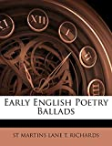 Early English Poetry Ballads