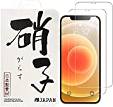 iphone12 mini ガラスフィルム 【2枚セット】 保護フィルム 約3倍の強度 3D Touch対応 硬度9H 気泡防止 rsJAPAN
