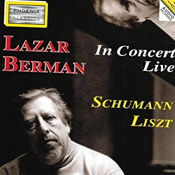Robert Schumann and Ferenc Liszt : Piano In Concert Live