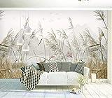 Fototapete Tapete Vlies Tapeten Vliestapete Weizenfeld Wandtapete Moderne Wandbild Wand Schlafzimmer Wohnzimmer 350cm x 256cm