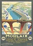 Vintage Travel Frankreich für Morlaix in der Bretagne