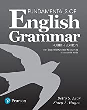 Best azar fundamentals of english grammar fourth edition Reviews