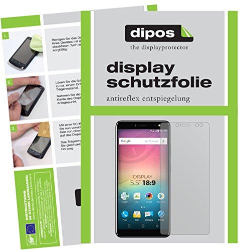 dipos I 6X Schutzfolie matt kompatibel mit Allview V3 Viper Folie Bildschirmschutzfolie