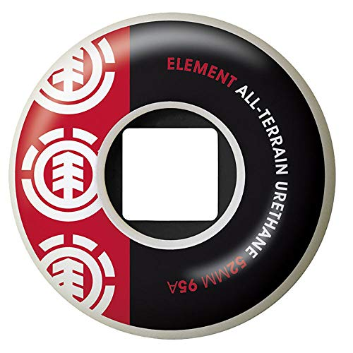 Element Section Wheels Red 52mm
