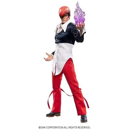 [AC]Genesis Emen KOF-IR02 ザ キング オブ ファイターズ 八神庵 アクションフィギュア 素体 ヘッド 衣装 アクセサリー フルセット