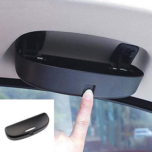ShangDeLi Auto Brillenetui Sonnenbrille Halter Brillenhalter Brillenfach für 3er 5er X1 X3 F25 X5 F10 F11 F18 F80 F20 F21 F32 F33 F35 F48 Zubehör