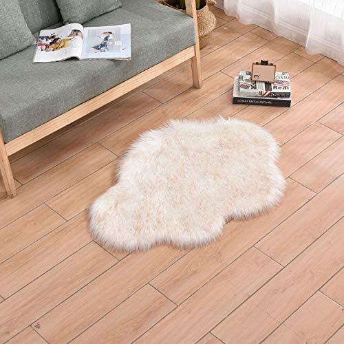Imitation Wool Carpet Cloud Sofa Living Room Carpet Floor Mat Bedroom Plush Bay Window Carpet