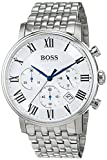 Hugo Boss Herren Analog Quarz Uhr mit Edelstahl Armband 1513322