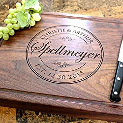 handmade cutting boards ~ stamped and customized