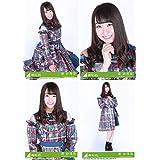 【潮紗理菜】 公式生写真 欅坂46 黒い羊 封入特典 4種コンプ