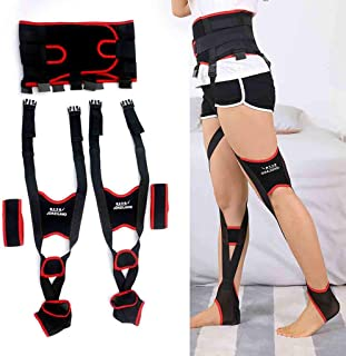 MEET O/X Type Leg Correction with Knee Arch Correction Bandage Leg Free Walking Recovery orthosis Suitable Day and Night use for Adults,Adjustable Leg Posture Corrector