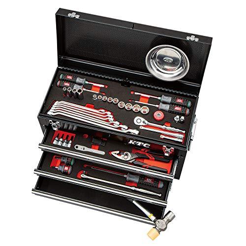京都機械工具(KTC) ツールセット ツールチェスト ブラック 67点組 SK36721XBK (2020-21 SK品)