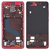 Zhangl Xiaomi Repuesto LCD Marco Frontal de la Carcasa del Bisel Placa for Xiaomi redmi K20 / K20 redmi Pro/Mi 9T / Mi 9T Pro Xiaomi Repuesto (Color : Red)