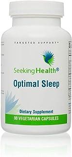 Seeking Health | Optimal Sleep | Natural Sleep Aid Supplement* | Supports Relaxation | Includes Ashwagandha...