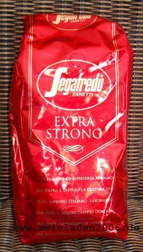 2 x Segafredo Kaffee Espresso - Extra Strong, 1000g Bohnen