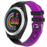 Smartwatch, LQIAN Fitness Tracker Uhr Armband Sportuhr Smart Watch mit SMS Facebook, Twitter, Whatsapp, Linkedin, Messenger, Benachrichtigungskompatibles iOS und Android Kompatibel mit...