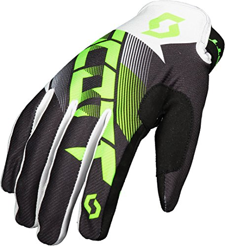 Scott 350 Dirt MX Motocross/DH Fahrrad Handschuhe schwarz/grün 2018: Größe: XL (11)
