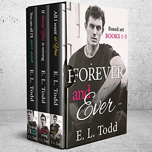 Forever and Ever Boxed Set: Books 1-3 Audiobook By E. L. Todd cover art