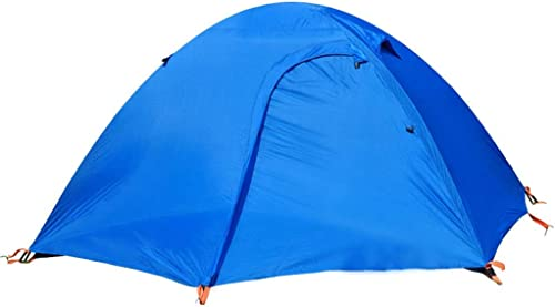 Tente de camping de personne, tente de randonneuse instantanée instantanée sautez la tente pour des sports en plein air (Couleur   bleu)