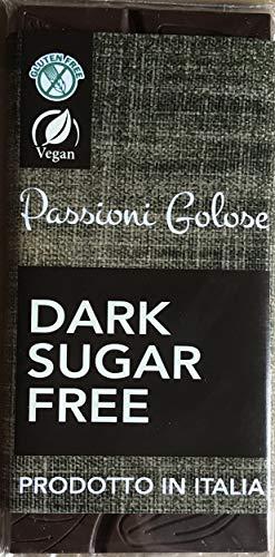 tavoletta cioccolato fondente senza zucchero