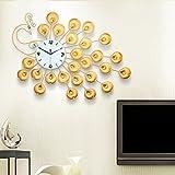 ZIZTIME-Modern Round Wall Clock Fashion Creative Home Decor Contemporary Living Room Wall Clock Mute
