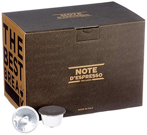 Note d'Espresso Italiano - Cápsulas de caldo de beicon y cebolla, 14g (caja de 30 unidades) Compatibles con cafeteras de cápsulas Nescafé* y Dolce Gusto*