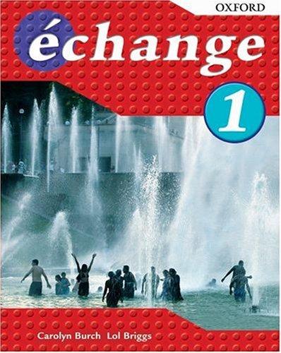 échange: Part 1: Students' Book
