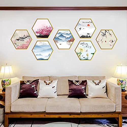 DSSJ Papel Pintado cálido Sala de Estar Dormitorio sofá TV Fondo decoración de Pared Pegatinas de Pared Pegatinas de Pared Autoadhesivas