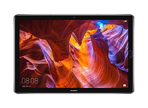 Huawei MediaPad M5 Tablet with 10.8' 2.5D Display, Octa Core, Quick Charge, Quad Harman Kardon-Tuned Speakers, WiFi Only, 4GB+64GB, Space Gray (US Warranty)