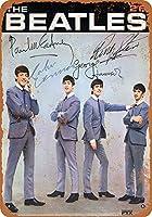 The Beatles カブトムシ メタルサインメタルポスターポストカード注意看板装飾壁掛壁パネルカフェバーレストランシネマボールルームミュージックフェスティバル