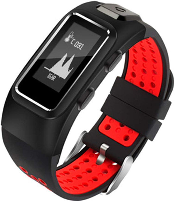 HM2 Sport-Fitness-Tracker, Pulsuhr mit Schrittzhler Wasserdicht Smart, Kompatibel mit Android Ios