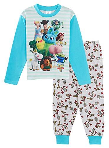 Disney Toy Story - Pijama para niños (4 Unidades), diseño de Buzz Woody Forky