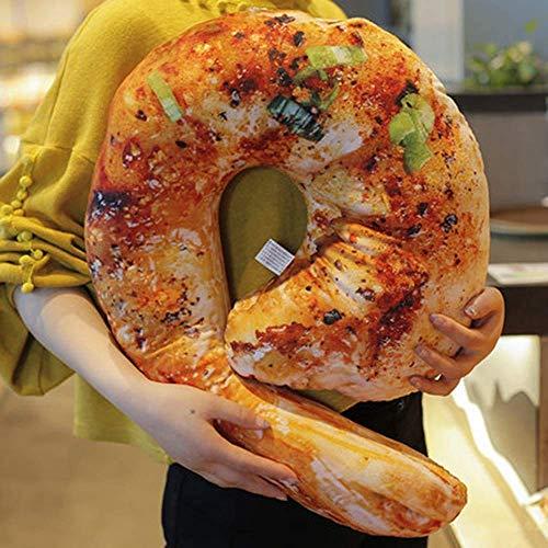 Tokyia Cojinería 3D de simulación de alimentos con forma de juguete relleno para sofá, decoración del hogar, regalo divertido, 1