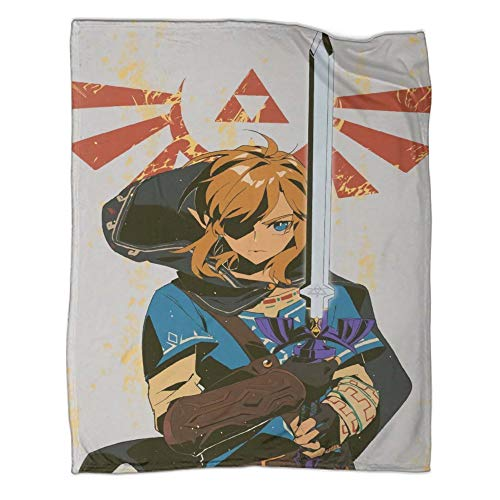 Xaviera Doherty Hyrule Warrior Zelda Age of Disaster Hot Blood Game - Manta de franela de doble cara (180 x 230 cm) para otoño e invierno, ropa de cama infantil