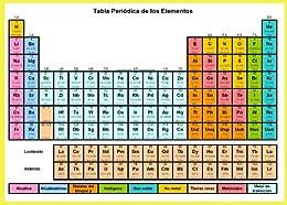 Tabla Periodica de los Elementoshoja de referencia eBook