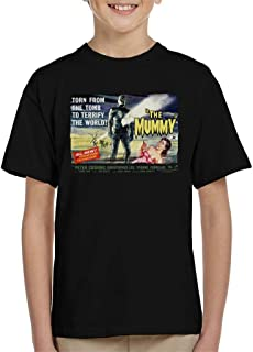 Hammer Horror Films Mummy Torn from The Tomb Kid's T-Shirt